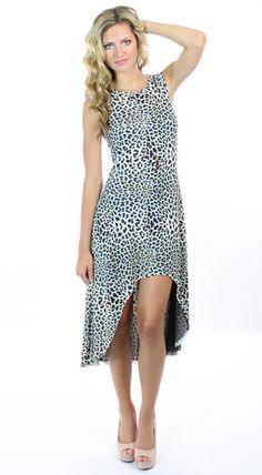 Summer Dress in Leopard