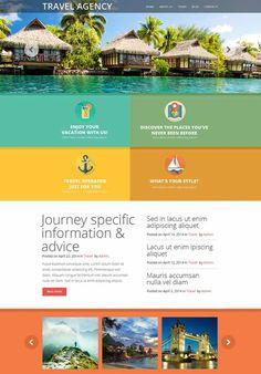 travel agency flat - Buscar con Google