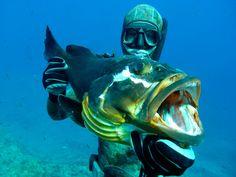 Он охотился на глубине 47,3 метра: Роман Федаш