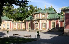 The chinese pavillion right next to Drottninholm palace. Built 1763 as a surprise gift for queen Lovisa Ulrika from her husband king Adolf Fredrik. Sweden