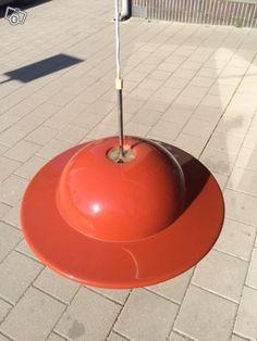 Acrylic pendant light (Orno 64-558) designed by Heikki Turunen for Stockmann-Orno, made by Sanka Oy, 1973.