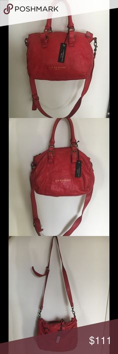"""Bag """"Liebeskind Berlin"""" Super buttery soft , 100% lightweight pebbled leather bag. Quality  Liebeskind Berlin brand. Liselotte C Spice Used, with original tags attached. Liebeskind Berlin Bags"""