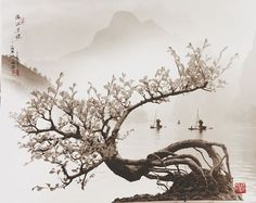 Floating In spring by Don Hong-Oai