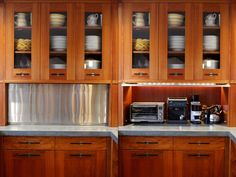 Nice Wonderful Appliance Garage #17830 · Corner Kitchen CabinetsKitchen ...