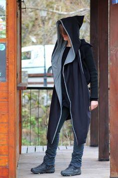 LA PANTIGANA: bufanda XXXL con capucha. Próximo tutorial.