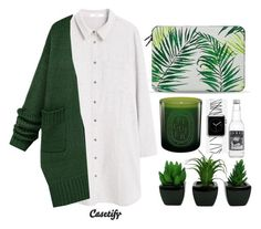 """""""#Casetify"""" by credentovideos ❤ liked on Polyvore featuring MANGO, Casetify and Diptyque"""