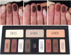 Kat Von D Shade + Light Eye Contour Palette swatches