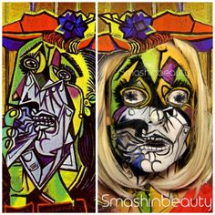 picasso face painting - Google Search