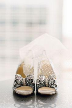 Cute wedding shoes.
