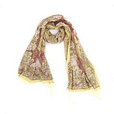 Girlie-Stuff | shawl olijfgroen