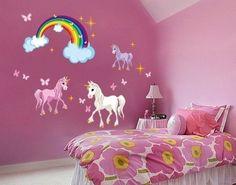 Unicorn Wall Sticker Set