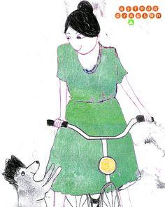 Thema heute ist Hund - und ich habe noch ein Fahrrad gezeichnet ein Thema das ich übersprungen hatte #illustration #pudel #fahrrad #instadog  #bicyclelover #illugram #funny #monotype #illustrationart  #drawdaily  #drawdrawdraw #drawingchallenge  #365doodlesmitjohanna @byjohannafritz #editorialart #fashionillustration #fashiondrawing  #fashionsketch #binnovart  @binnovart_  #berlinillustration  #ilovetodraw childrenswritersguild #children_illustration #best_of_Illustrations