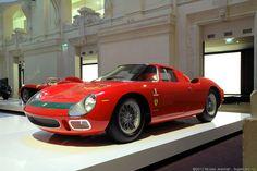 1964 Ferrari 250LM Ralph Lauren Collection.   Saw this in Paris <3
