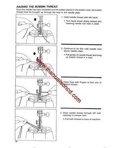 Bernina Bernette 715, 730, 740E Sewing Machine Instruction