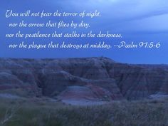 Psalm 91:5-6 - Protection