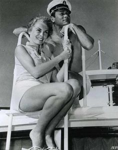Tony Curtis and wife Janet Leigh