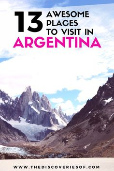 13 awesome things to do in Argentina. Check out the best of Argentina with this whirlwind travel guide of Buenos Aires, Salta, Patagonia, Bariloche and more. Ushuaia, Visit Argentina, Argentina Travel, Argentina Food, Travel Advice, Travel Tips, Travel Guides, Travel Destinations, Travel Tourism