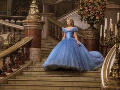 Disguise kids Cinderella (Lily James) in Cinderella Cinderella Ballgown, Cinderella Pink Dress, Cinderella 2015, Cinderella Costume, Lily James, Adult Princess Costume, Disney Store, Military Fashion, Dot Dress