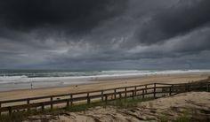 Lacanau juste avant l'orage