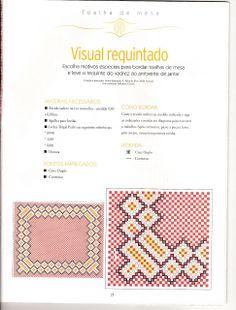 Arte by Cachopa - Bordado I: Visual requintado nessa toalha de mesa                                                                                                                                                     Mais