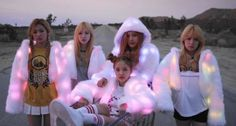 Red Velvet Ice Cream Cake Awesome Glowing Fur Coats I WANT ONE SO BAD~~~!!!!