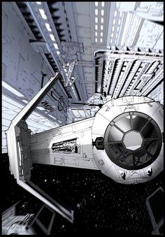 TIE Fighter - Star Wars - ashasylum.deviantart.com