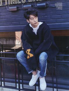 Seo Kang Joon For Both November 2016 Issue Of Elle and GQ | Couch Kimchi