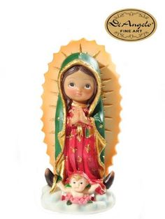 San Miguel Arcangel Bebe Y Muchos Mas !! Clay Crafts, Diy And Crafts, Arts And Crafts, Communion Centerpieces, Holy Rosary, Fondant Figures, Pasta Flexible, Mexican Style, Religious Art