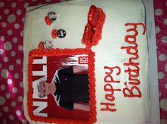 Niall Horan cake.