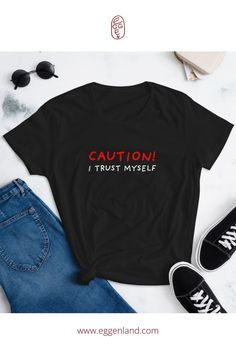 100% cotton t-shirt, pre-shrunk to make sure your size and a classic fit is maintained throughout several washes. T-shirts are from Stop Narcissists collection.