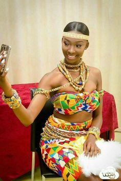 679b36b2b14 Beautiful like accessories African Print Dresses
