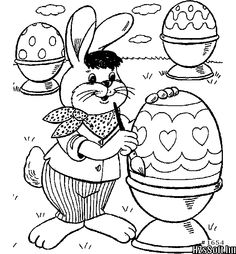 Free Printable Easter Eggs Bunnies Baskets And More These Coloring Sheets Will Keep The Kids Happy For Hours Pages