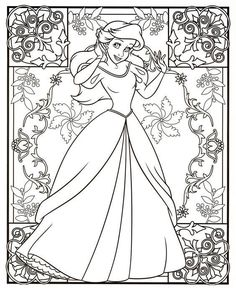 Blank Coloring Pages, Mermaid Coloring Pages, Coloring Book Art, Animal Coloring Pages, Coloring Pages For Kids, Disney Princess Coloring Pages, Disney Princess Colors, Disney Colors, Ariel Color