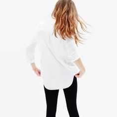 hint, hint – this Madewell oversized button-down shirt is on my wishlist (+ winning a trip for two to Paris from Madewell). more info here: http://mwell.co/giftwellsweeps #giftwell #sweeps