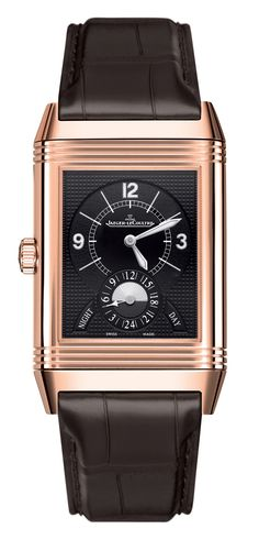 My kingdom for this watch!  Jaeger Lecoultre,   Grande Reverso Duo Rose-Gold