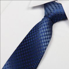 SHENNAIWEI 8cm slim silk neck ties New 2016 men's Gradient blue color ties fashipn Jacquard gravatas