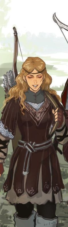 on deviantArt, cropped to show detail] Girls Characters, Dnd Characters, Fantasy Characters, Female Characters, Female Character Inspiration, Character Ideas, Character Concept, Character Art, Fantasy Warrior