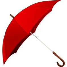 Red Umbrella ❤ liked on Polyvore featuring umbrellas, red, accessories and filler