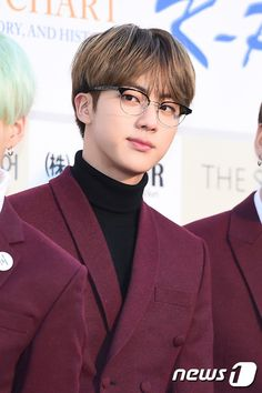 BTS @ The 5th Gaon Chart K-POP Awards Red Carpet 160217 | JIN