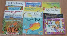 Children's Books lot of 13, paperback, English, Picture, Homeschool, Learning