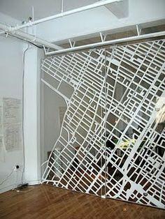 Map Room Divider