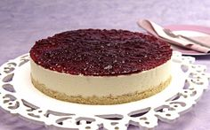 CHEESECAKE DE AMORA - http://www.sobremesasdeportugal.pt/cheesecake-de-amora/