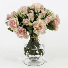 pink roses at flovery.com