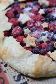 4th of July Double Berry Galette by laurenslatest, via Flickr
