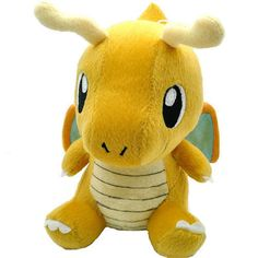 Pokemon Dragonite Soft Plush Kawaii Kids Toy - OtakuForest.com
