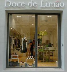 Agencement du magasin Doce de Limao #agencement #magasin #architecture #décoration