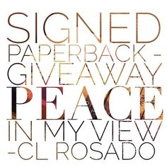 Just read this book and I LOVED it !!!  #Repost @teasersbycoop  Author C.L. Rosado is giving me the privilege to do her very first giveaway !! Her debut book Peace In My View has been out 1 month. Not 1 but 2 winners will be chosen randomly 7 days from now .... Let's Do This !! #PIMVAnniversaryGiveaway  1. Follow this page & hers @author_clrosado  2. Tag your friends  3. Like & share this post.  Winner one.... Signed Paperback Winner two ... Ebook  Gentry Sloan is coming home for the first…