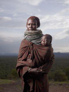 Karo Mother at Sunrise....