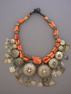 Unique ethnic jewelry and tribal jewelry. Handcrafted necklaces, bracelets, and rings using antique and ancient beads and artifacts by jewelry designer Anna Holland. Coral Jewelry, Tribal Jewelry, Bohemian Jewelry, Statement Jewelry, Jewelry Art, Beaded Jewelry, Silver Jewelry, Jewelry Accessories, Handmade Jewelry