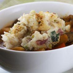 St. Patty's Day - vegan style! Irish stew and colcannon.